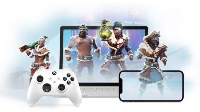 Xbox Cloud Gaming appareils