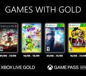 Games With Gold: lesjeux Xbox offerts enaoût2021 sontconnus