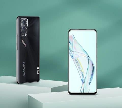 ZTE Axon30: lesmartphone aveccaméra sousl'écran abien évolué