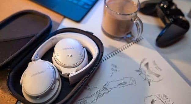 Bose QuietComfort45: lecasque sedévoile soustoutes sescoutures