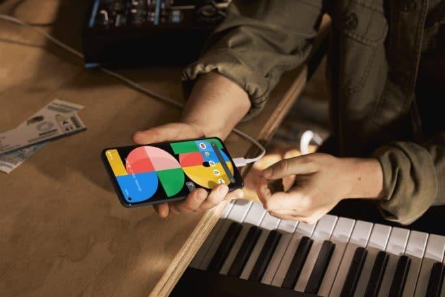 LePixel5a devrait être ledernier smartphone delagamme àinclure unchargeur ©Google