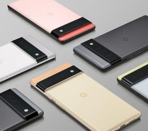 Pixel6 et6Pro: Google évoque sessmartphones etleurpuce maison