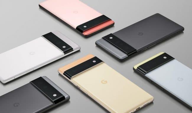 Google Pixel 6 et Pixel 6 Pro
