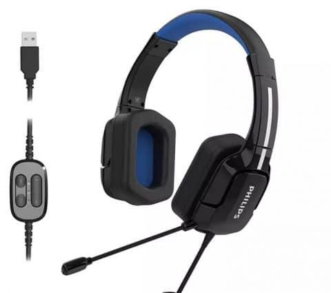 TAGH301BL etTAGH401BL: Philips lance deuxcasques-micro pourjouer