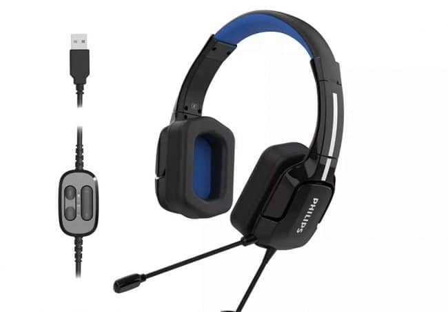 Lecasque gaming TAGH401BL© Philips