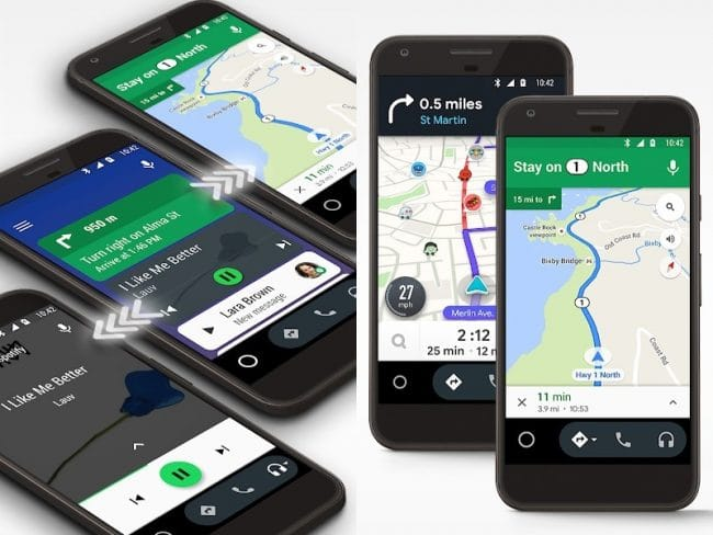 Android Auto pour mobile