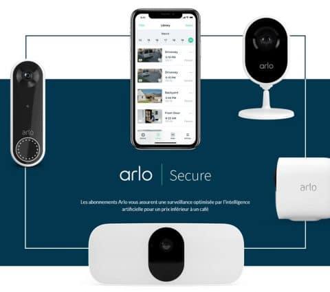 Arlo Smart devient Arlo Secure etlance unenouvelle gamme deservices