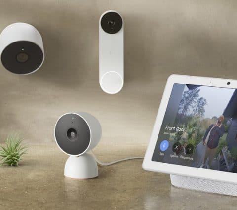 Google présente troisnouvelles NestCam etunesonnette Doorbell