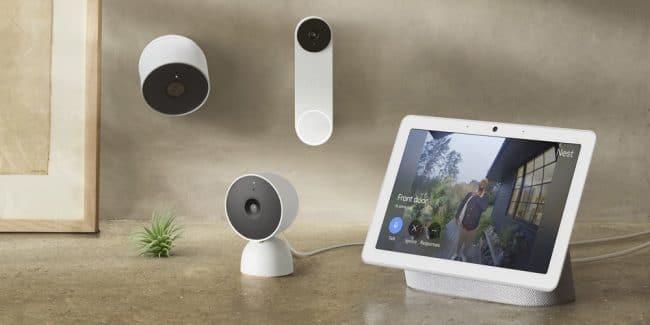 Google Nest gamme 2021