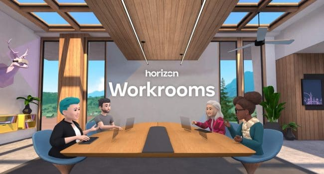Facebook Horizon Workrooms