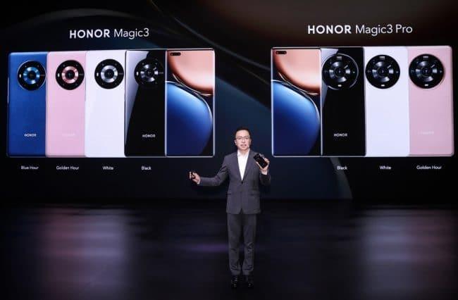 Honor Magic3 et Magic3 Pro
