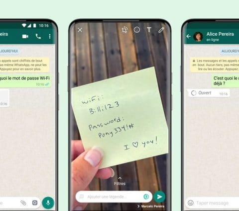 WhatsApp: ilestdésormais possible d'envoyer desphotos etvidéos éphémères