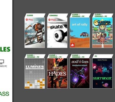 Hades, Dirt et une flopée de jeux arrivent dans le Xbox Game Pass
