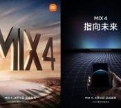 LeXiaomi MiMix4 apparaît surlatoile avec unecaméra sous l'écran