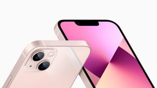 Apple iPhone 13 et iPhone 13 mini