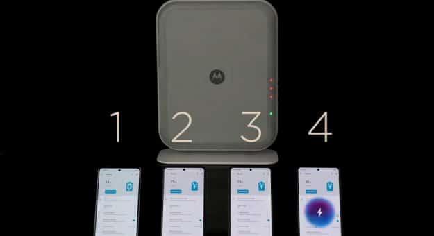 Motorola chargeur sans fil à distance