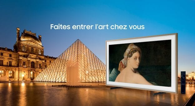 Sasmsung musée du Louvre The Frame