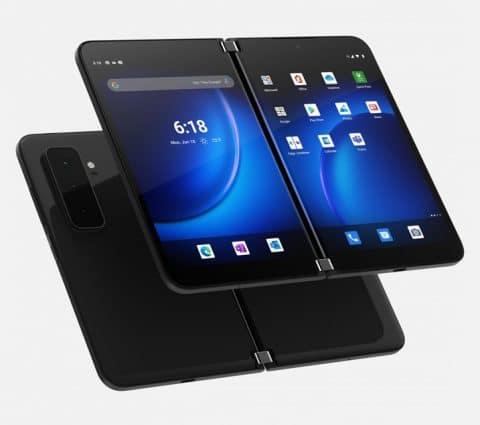 Surface Duo2: Microsoft renouvelle sonsmartphone àdouble-écran
