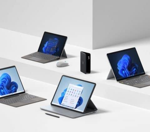 Surface Laptop Studio, Go3, Pro8… Retour surlesannonces deMicrosoft