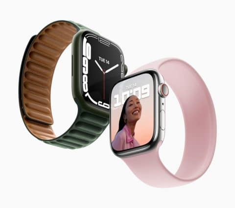 Apple Watch Series7: unécran plusgrand etunerecharge plusrapide