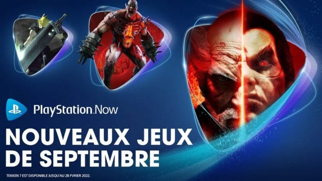 PlayStation Now Sony Septembre 2021