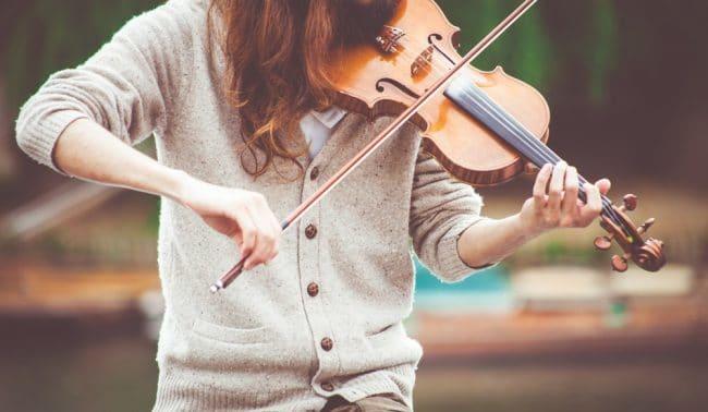 Musique classique violon