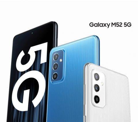Galaxy M52: Samsung lance sonnouveau smartphone abordable enEurope
