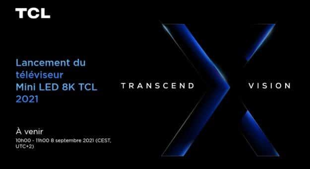 TCL 8K Mini LED série X