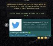 WhatsApp vabientôt ajouter lesréactions auxmessages
