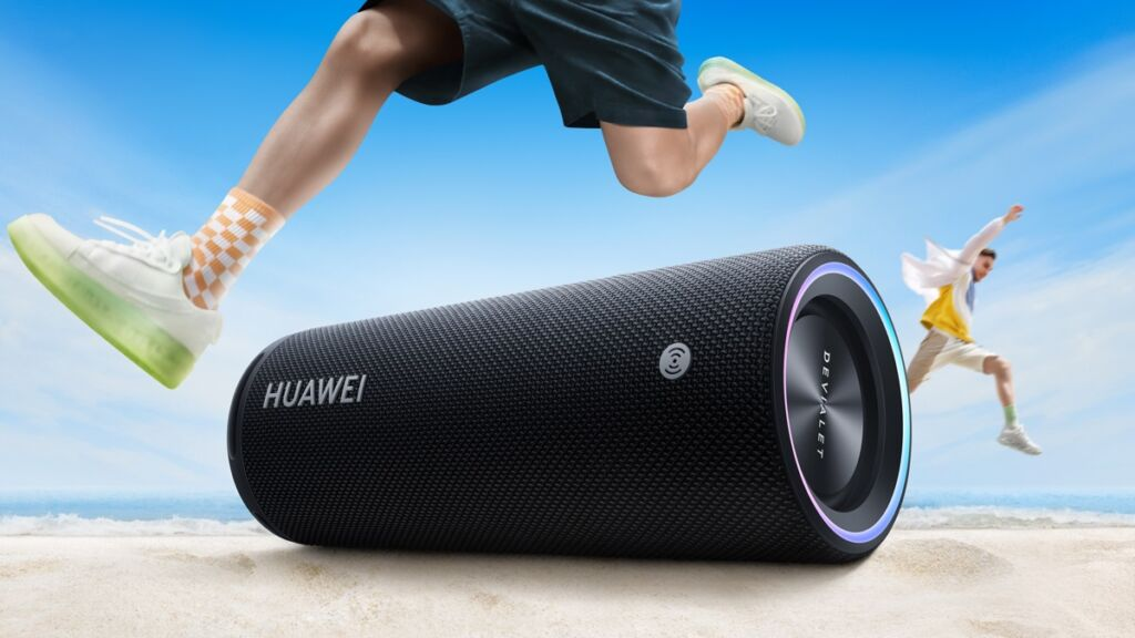 Sound Joy : Huawei s'associe à Devialet pour lancer sa première enceinte Bluetooth