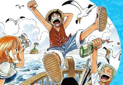 """Sans surprise, """"One Piece"""" se retrouve encore dans le top 5 des mangas les plus vendus en 2020."""