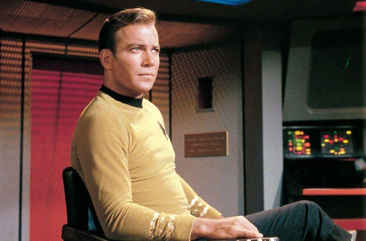 William Shatner a incarné le mythique capitaine Kirk entre 1966 et 1996 dans la série Star Trek.