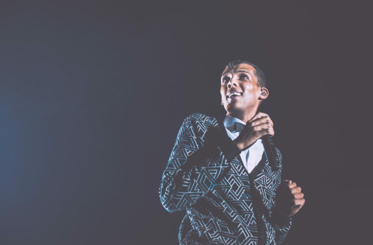 Stromae en concert à Bruxelles (Belgique) en décembre 2013