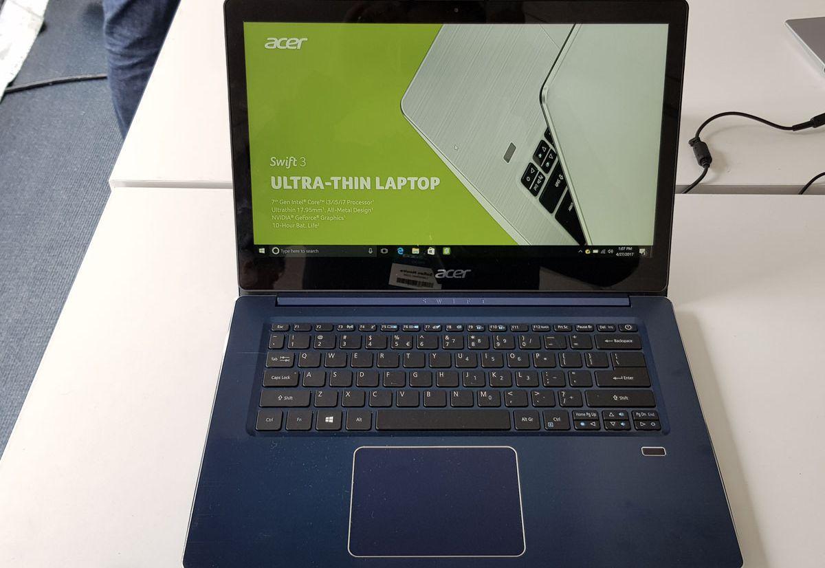 Acer enrichit sa gamme d'ultraportables avec les Swift 1 et Swift 3