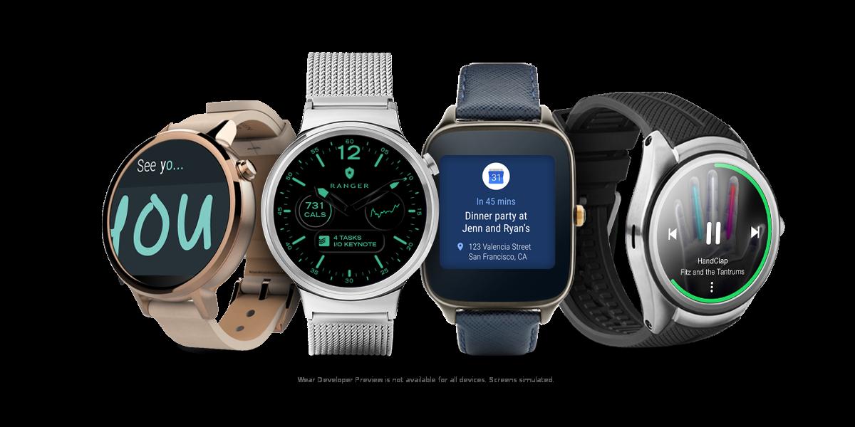 Android Wear 2.0 : la mise à jour retardée pour beaucoup de montres