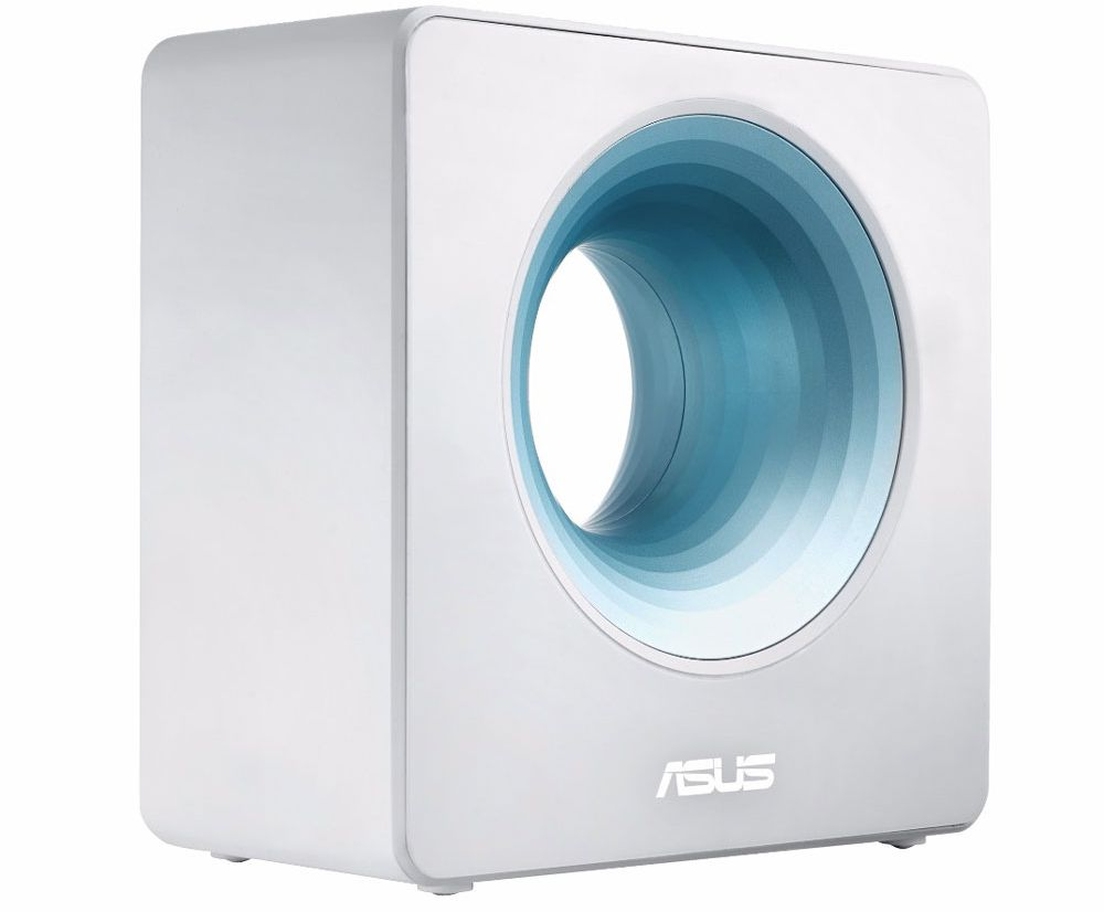 Avec son Blue Cave, Asus présente un routeur très design