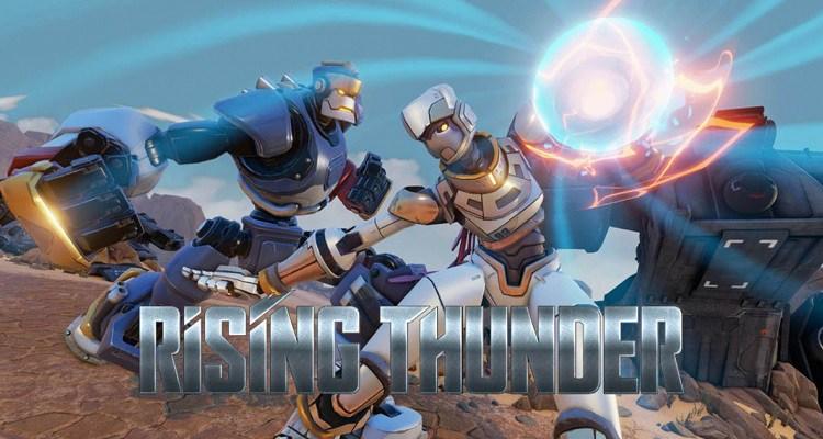 Bien qu'annulé, Rising Thunder sortira pour la communauté