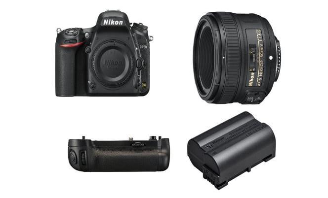 Black Friday 2019 - Le Nikon D750 (+ grip, batterie et optique Nikkor AF-S 50 mm) à 1299 euros