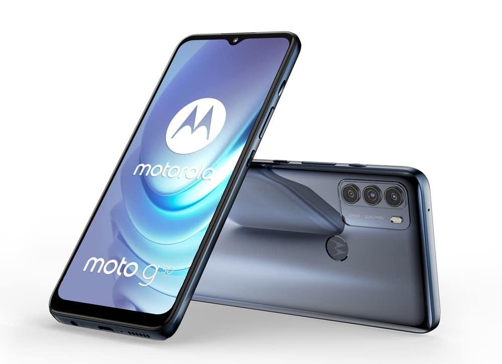 Bon Plan - 50 € remboursés pour l'achat d'un Motorola Moto G50