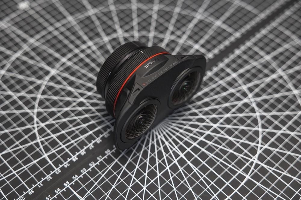 Canon dévoile un objectif pour les créateurs de contenus de réalité virtuelle