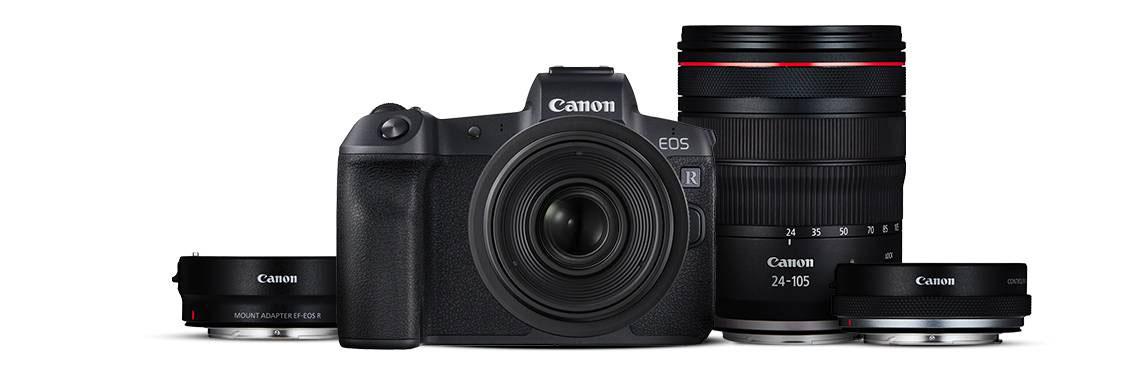 Canon EOS R : quatre optiques au lancement et des accessoires