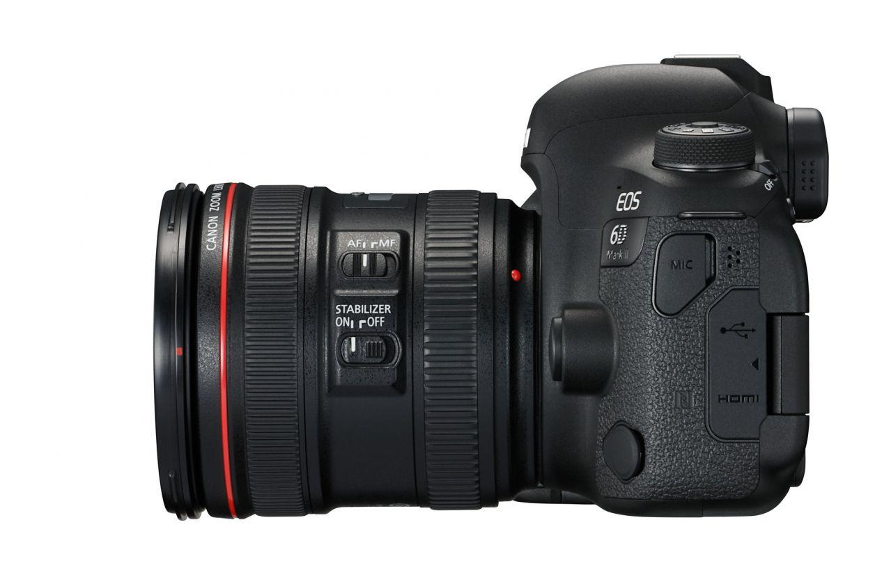 Canon renouvelle deux appareils photo dont un 6D Mark II très attendu