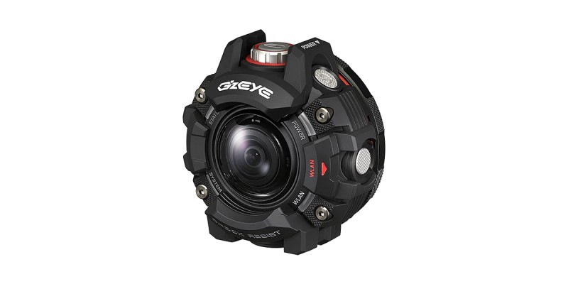 Casio GZE-1 : une action-cam qui n'a peur de rien