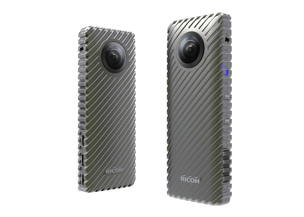 """CES 2017 : Ricoh présente une caméra qui peut """"livestreamer"""" pendant 24 heures"""