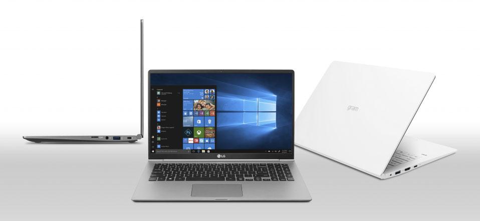 CES 2018 : Les PC ultraportables LG Gram visent des records de légèreté
