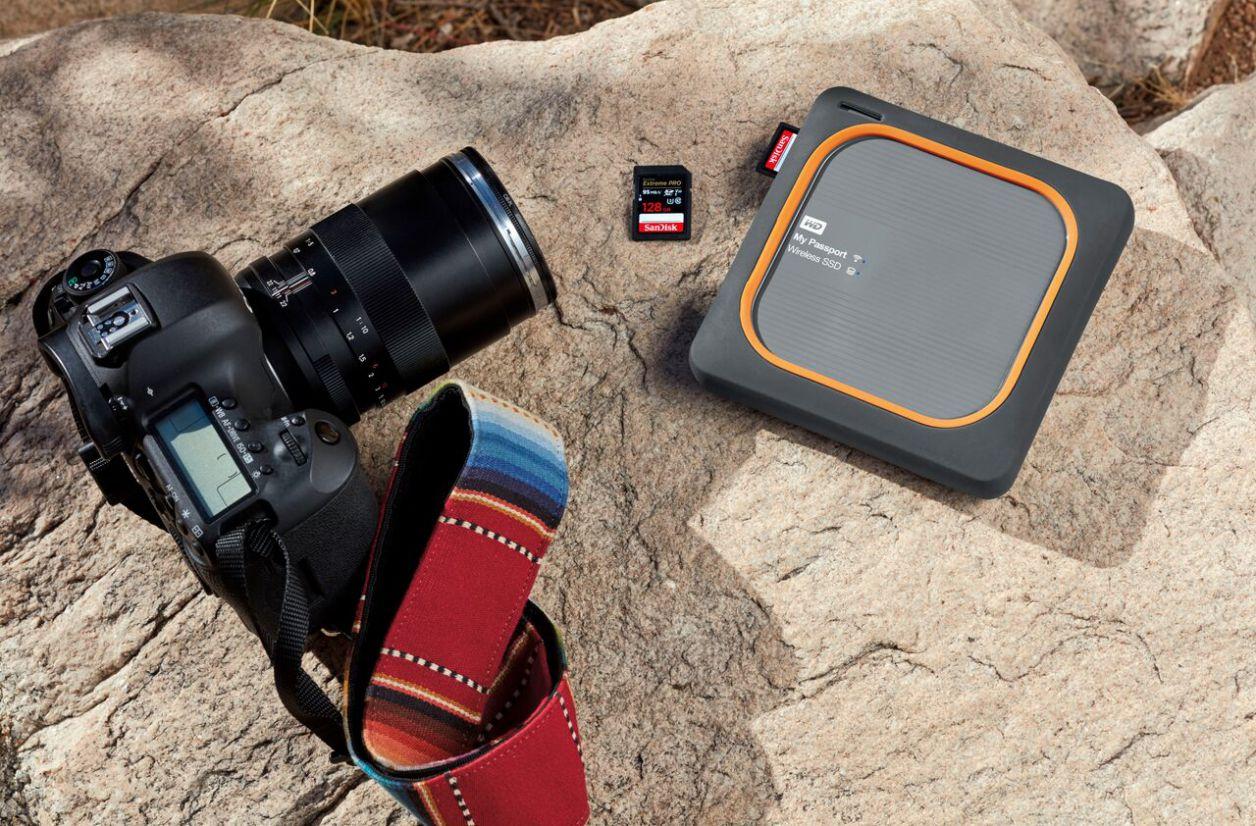 CES 2018 - My Passport Wireless,  SanDisk Extreme Portable : de nouveaux SSD portables chez Western Digital