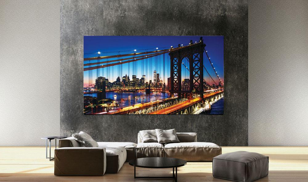 CES 2020 - Samsung dévoile une gamme de téléviseurs Micro-LED