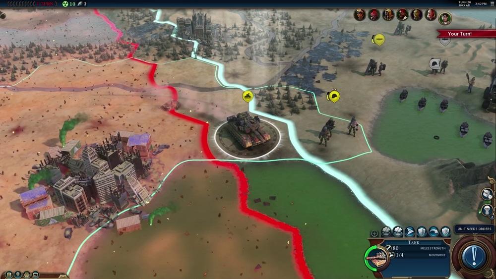 Civilization VI se met lui aussi au battle royale avec le mode Fléau rouge