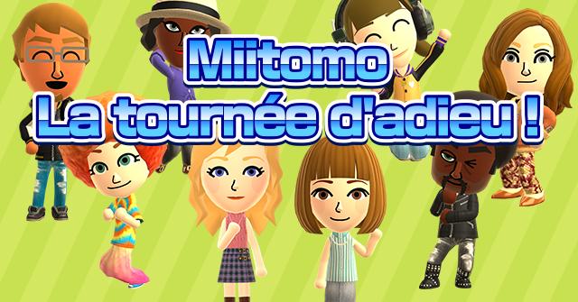 Clap de fin pour Miitomo, l'app mobile de Nintendo