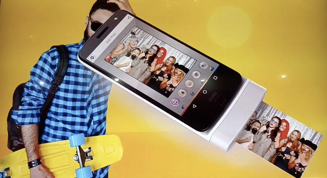 Concepts de Moto Mods : Lenovo ne manque pas d'imagination